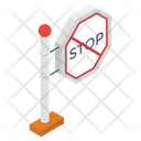 Stop Symbol Sign Direction Icon