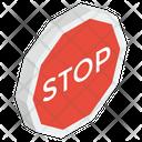 Stop Symbol Stop Sign Stop Emblem Icon
