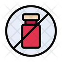 Stop Vaccine Injection Icon