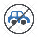 Stop Vehicle Restricted Icon