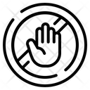 Stop Violence Gendar Mistreatment Icon