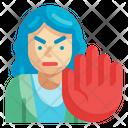 Stop Violence Icon