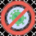 Stop Control Virus Icon