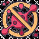 Stop virus spreading Icon