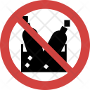 Stop Wine crate Icon