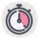 Stopwatch Time Control Icon
