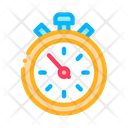 Sport Competition Stopwatch Icon