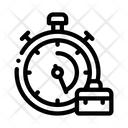 Stopwatch Suitcase Agile Icon