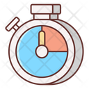 Time Tracking Stopwatch Time Tracker Icon