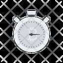 Stopwatch Bitcoin Timer Icon