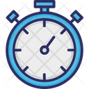 Productivity Stopwatch Time Management Icon