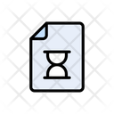 Stopwatch File Deadline Icon