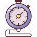 Stopwatch Timer Basketball Icon