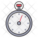 Stopwatch Deadline Timer Icon