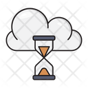 Stopwatch Hourglass Timer Icon
