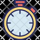 Chronometer Dollar Stopwatch Icon