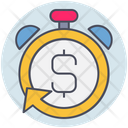 Business Stopwatch Return Icon