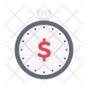 Stopwatch Timer Banking Icon