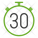 Countdown Watch Stop Icon