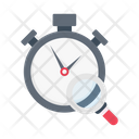 Stopwatch Clock Search Icon