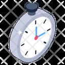 Stopwatch Alarm Clock Icon