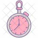 Fitness Lifestyle Stopwatch Icon