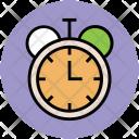 Stopwatch Chronometer Clock Icon