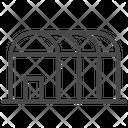 Storage Warehouse Factory Icon