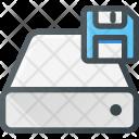 Storage Harddrive Floppy Icon