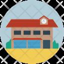 Storage Godown Building Icon