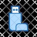 Storage Pen Drive External Memory Icon