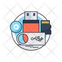 Storage Usb Pen Icon