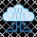 Storage Cloud Computing Icon