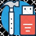 Storage Hammer Tools Icon