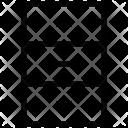 Storage Almirah Drawer Icon