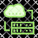 Cloud Mainframe Database Icon