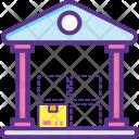 Warehouse Storage Capacity Icon