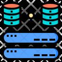 Storage Big Data Online Icon