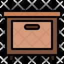 Storage Cabinet Living Room Icon