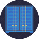 Storage Shipping Container Icon