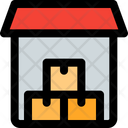 Storage Boxes Storage Warehouse Icon
