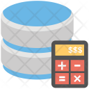 Storage calculation Icon