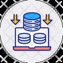 Storage Capacity Space Storage Icon