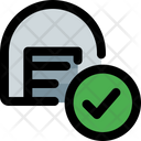 Storage Checklist Parcel Check Delivery Packaging Icon