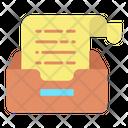 Storage Document Icon