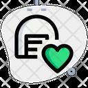Storage Heart Storage Warehouse Icon