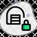 Storage Lock Warehouse Lock Storage Icon