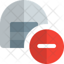 Storage Minus Remove Package Cancel Courier Icon