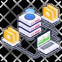 Data Storage Storage Network Files Storage Icon