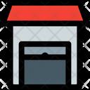 Storage Open Warehouse Storehouse Icon